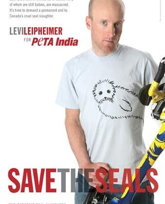 Levi Leipheimer's 'Save the Seals' Ad