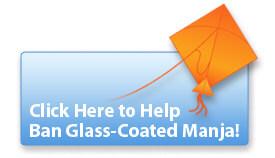 Click Here to Help Ban Glass-Coated Manja!