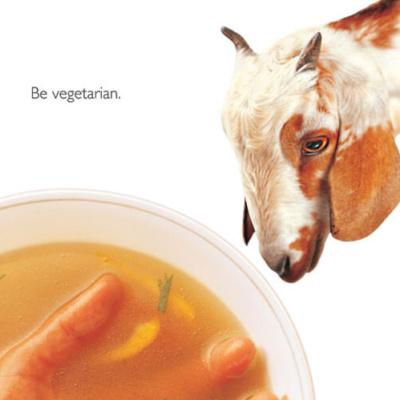 Be Vegetarian (Goat)
