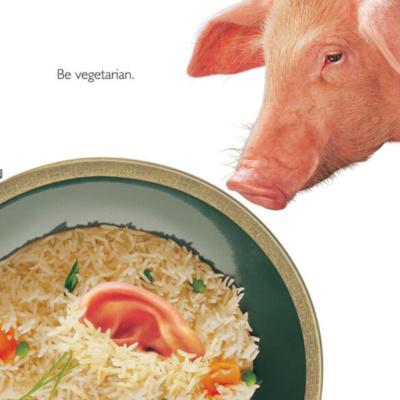 Be Vegetarian (Pig)