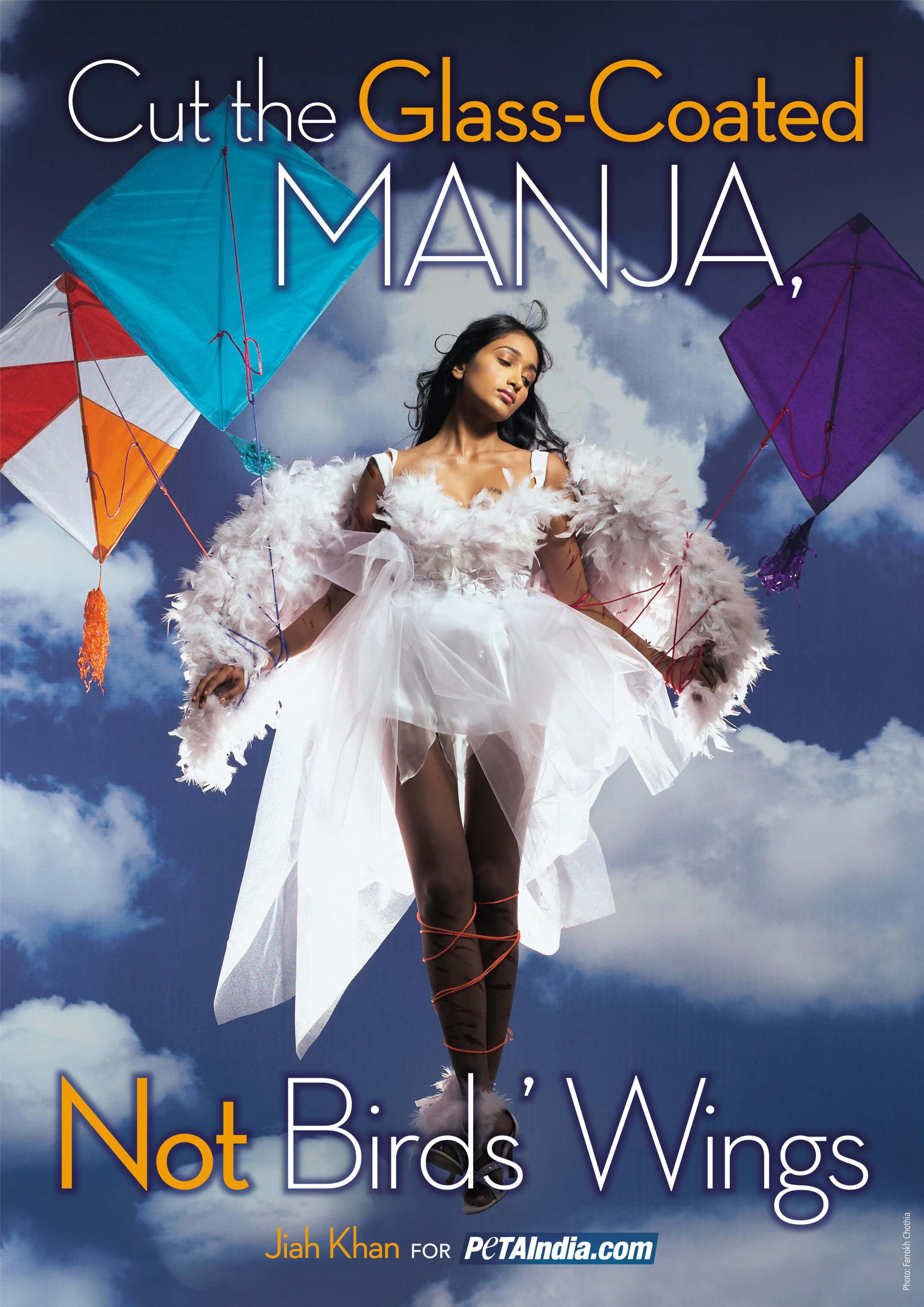Jiah Khan Says, 'Cut Glass-Coated Manja, Not Wings'