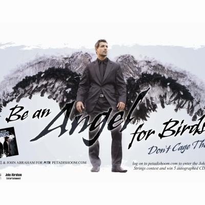 John Abraham Bird Ad