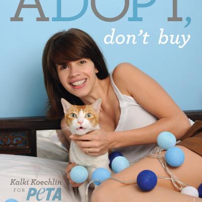Kalki Koechlin Says, 'Adopt, Don't Buy'