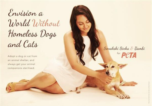 Sonakshi Sinha Speaks Up for Homeless Dogs