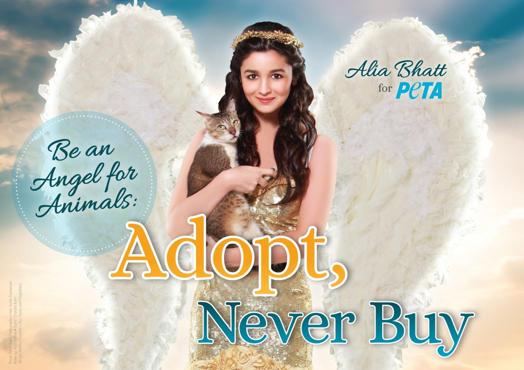 Alia Bhatt Spreads Her Angel Wings