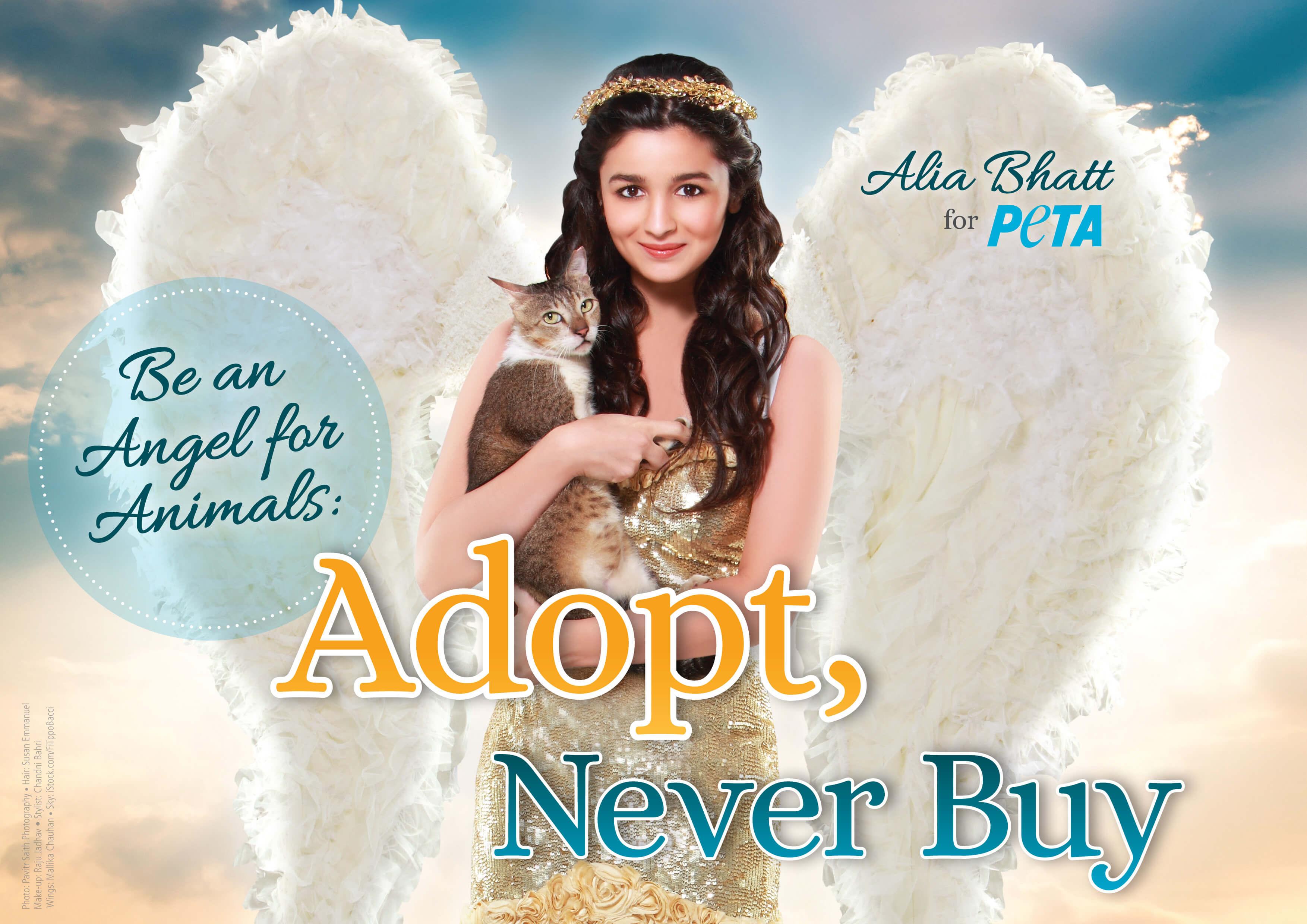 Alia Bhatt Spreads Her Angel Wings