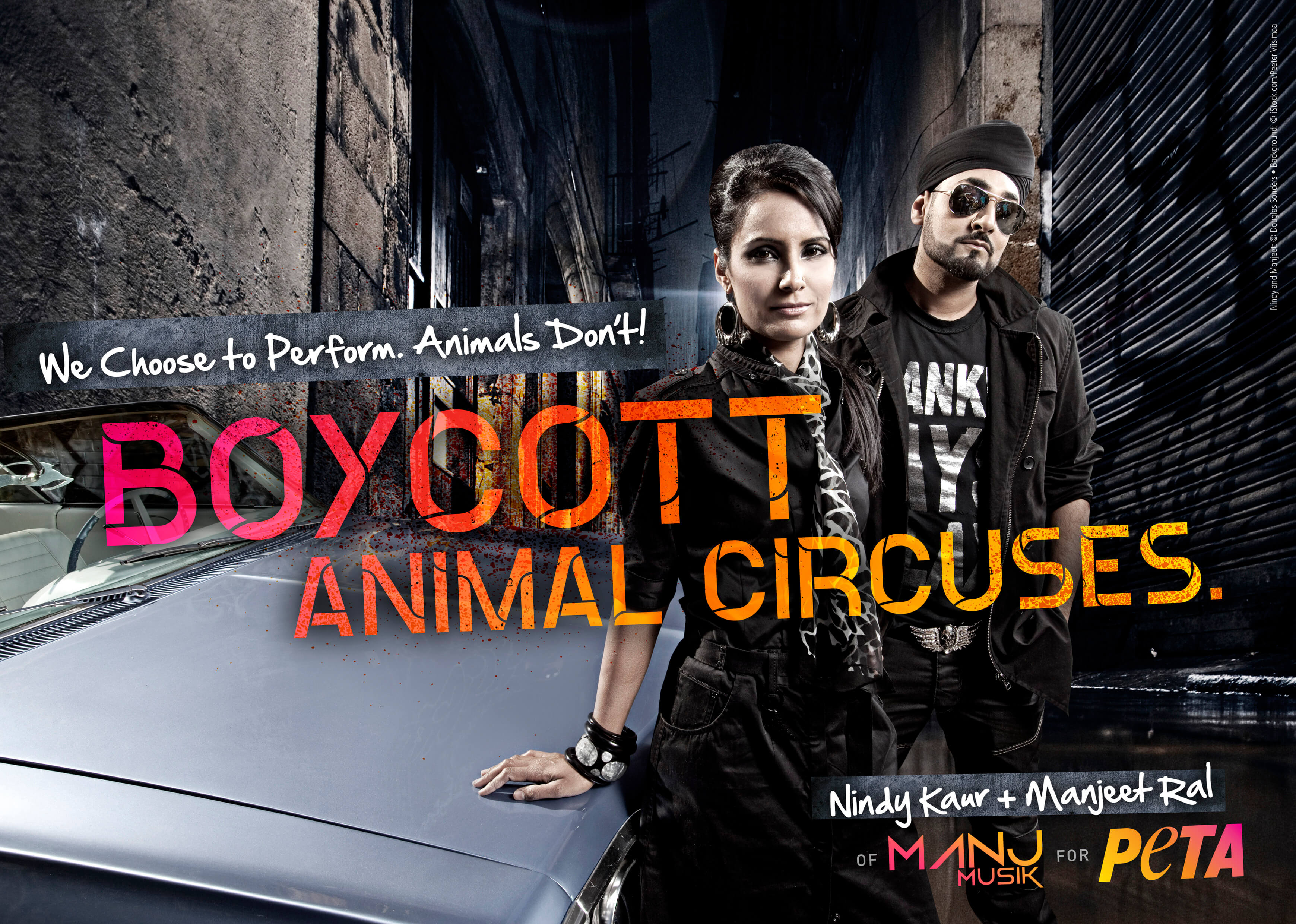 MANJ Musik Slams Circuses for Abusing Animals