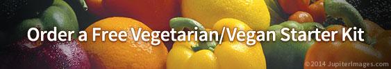 Order your free vegan starter kit