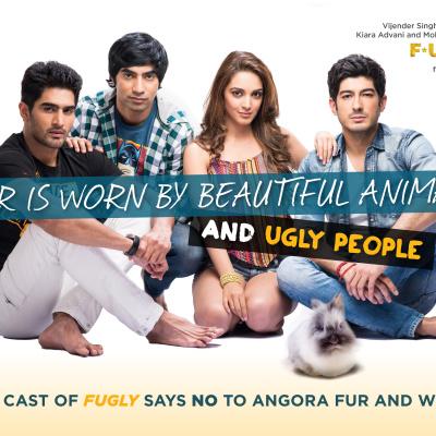 Fugly Anti-Fur PETA Ad