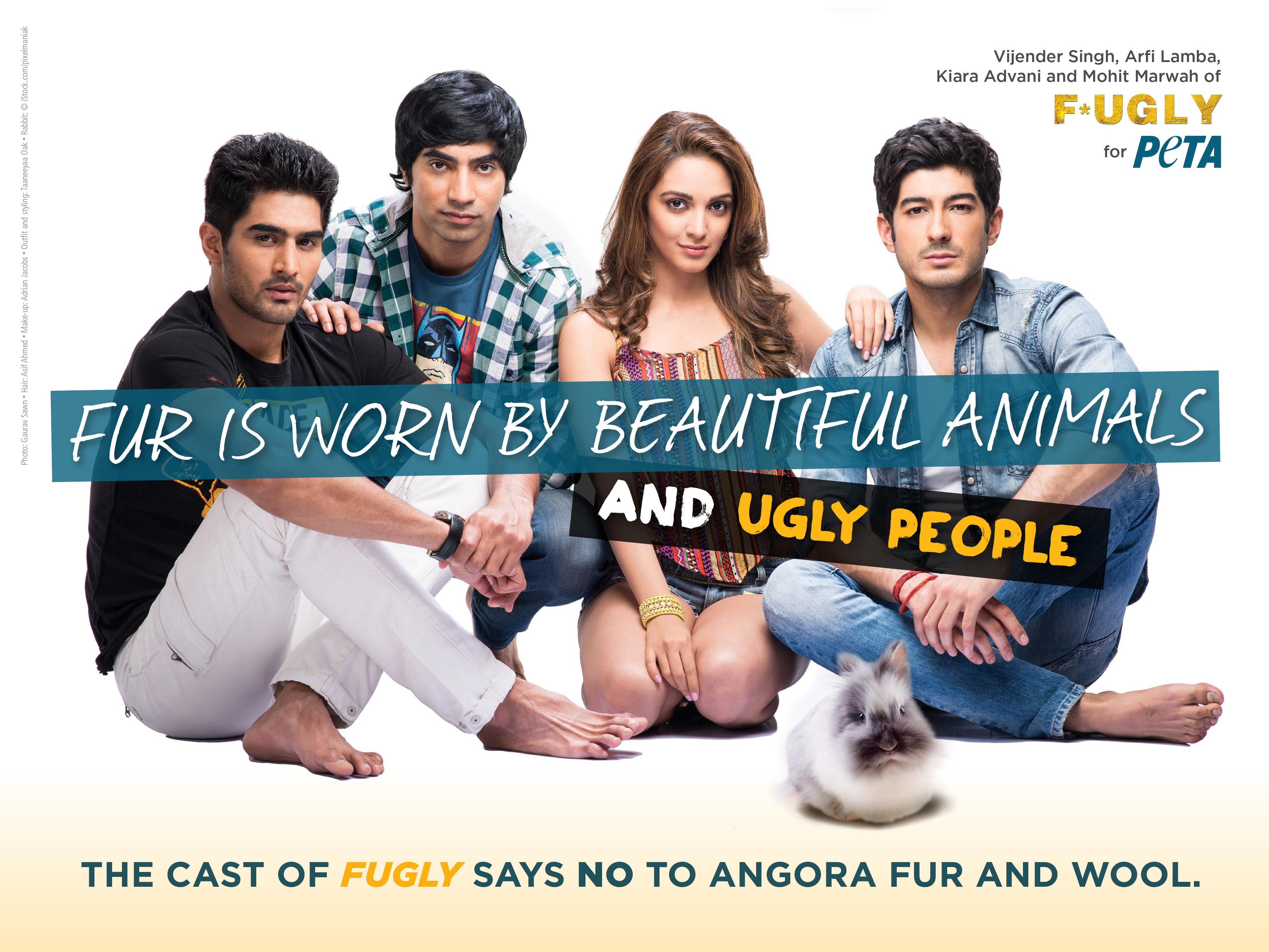 FUGLY Stars Says Fur Is Fugly