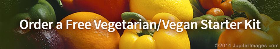 Order a Free Vegetarian/Vegan Starter Kit