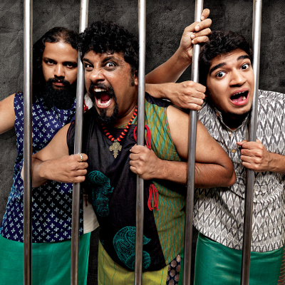 Raghu Dixit Project Goes Behind Bars for New Anti-Zoo Ad for PETA