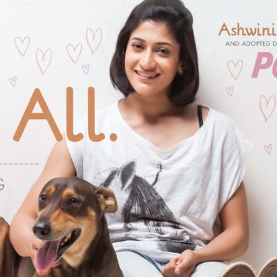 Ashwini Ponnappa Champions Animal Adoption