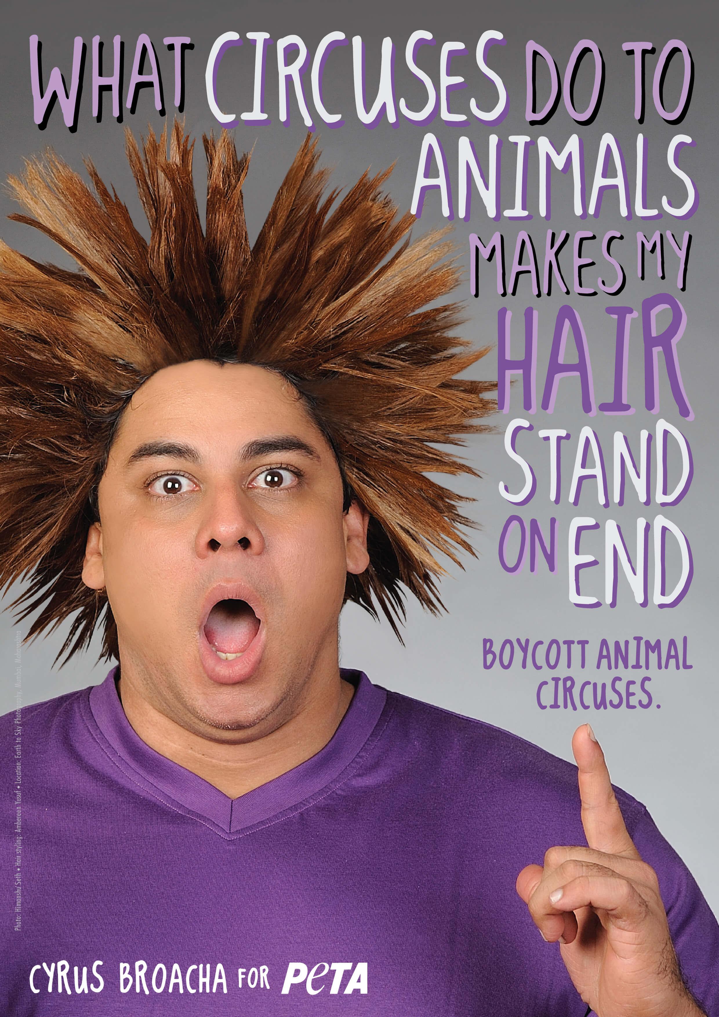Cyrus Broacha: Circus Cruelty Is No Joke