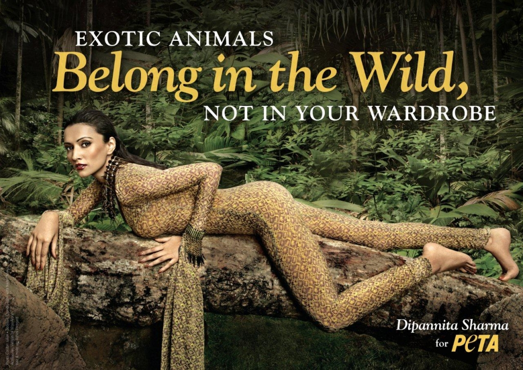 Dipannita Sharma Sheds Light on the Cruelty of Exotic Skins