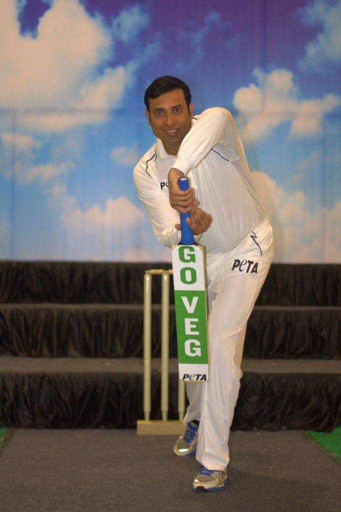 VVS Laxman's Veg Press Shot