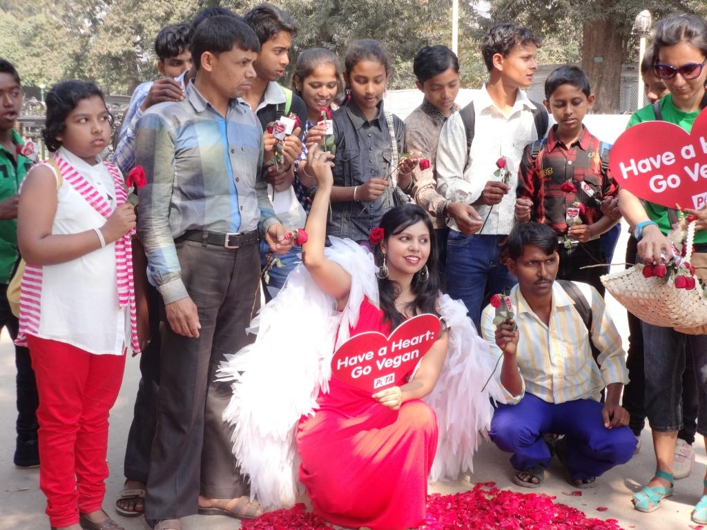 Valentines Day Demo - Kolkata 2014