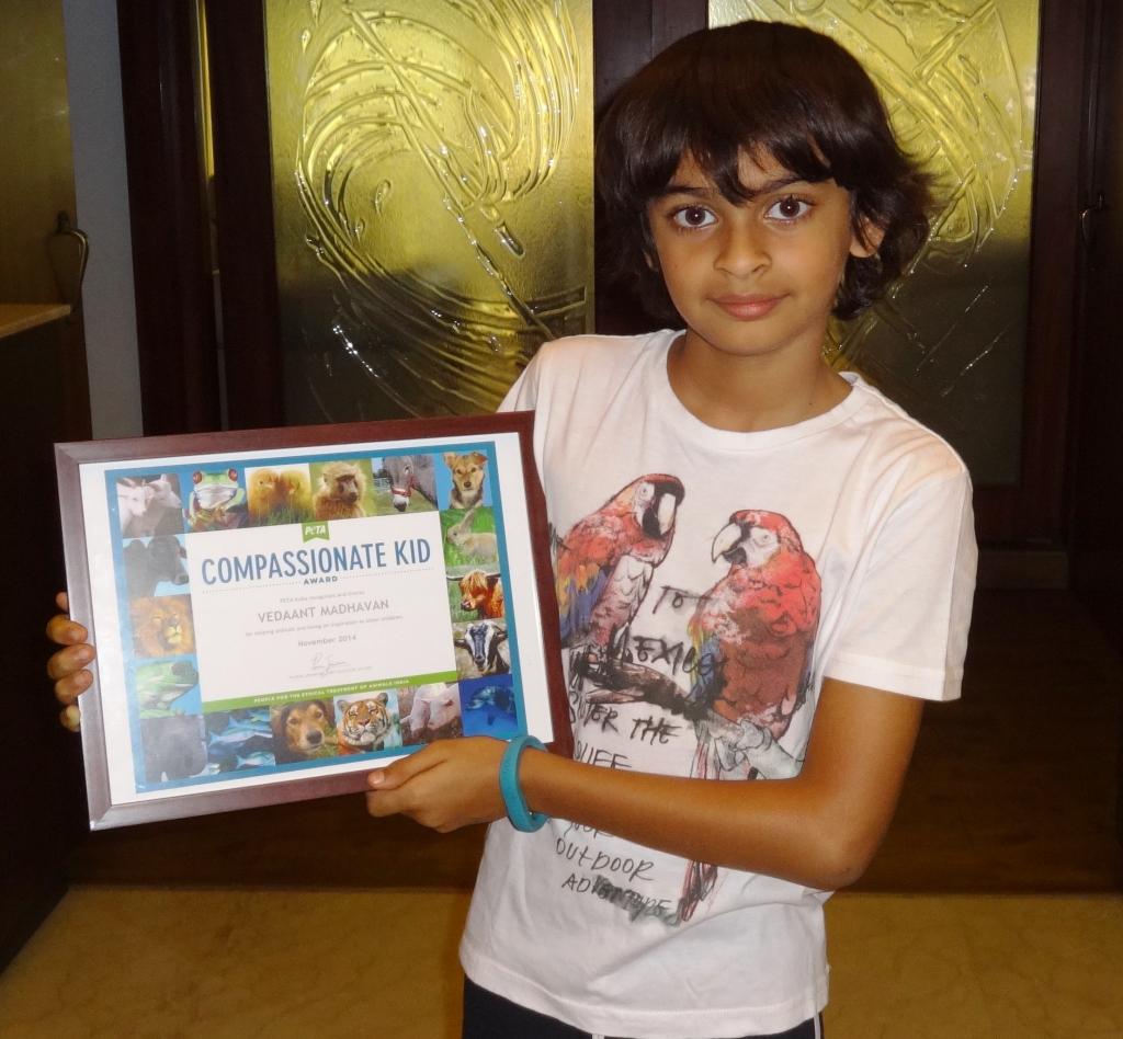 compassionate-kid-award-vedaant-madhavan