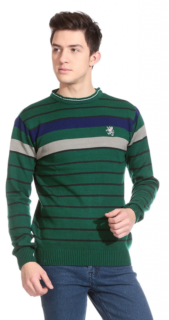 d-vogue-green-and-grey-acrylic-men-sweater-solid-multy-green-line-r shop-alike