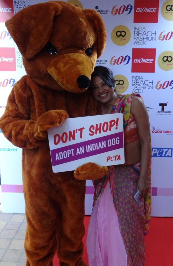 Anupamaa Dayal India Beach Fashion Week 2015