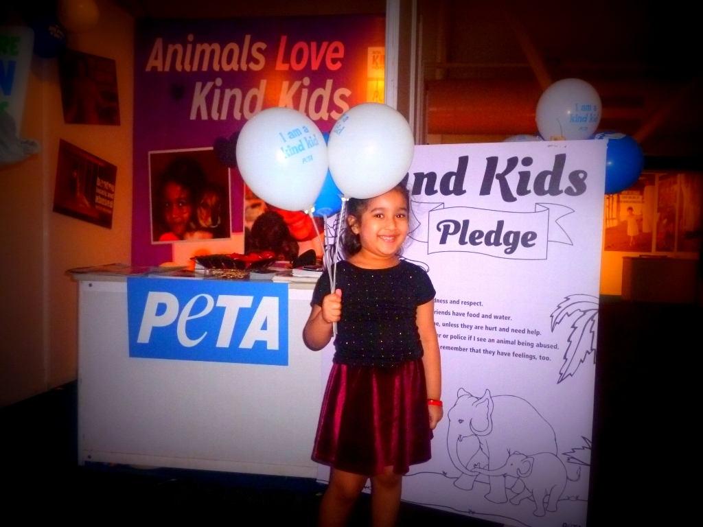 PETA balloons at IKFW