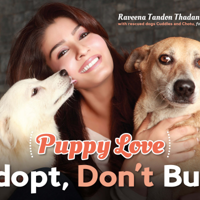 Raveena Tandon-Thadani Says,'Adopt, Don't Buy'