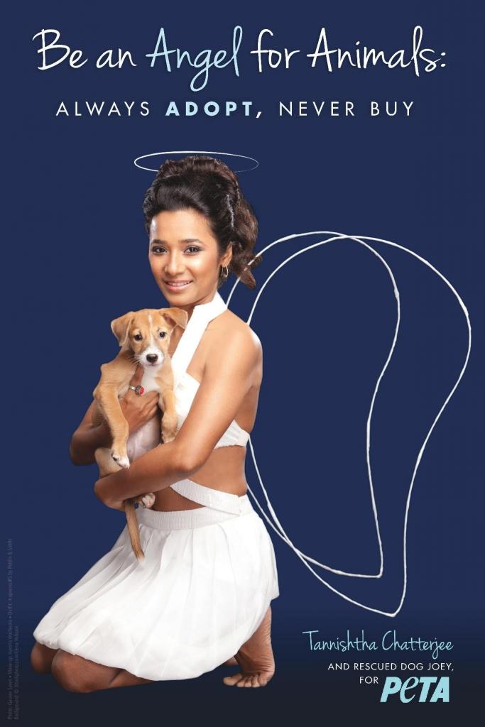 Tannishtha Chatterjee's PETA ad