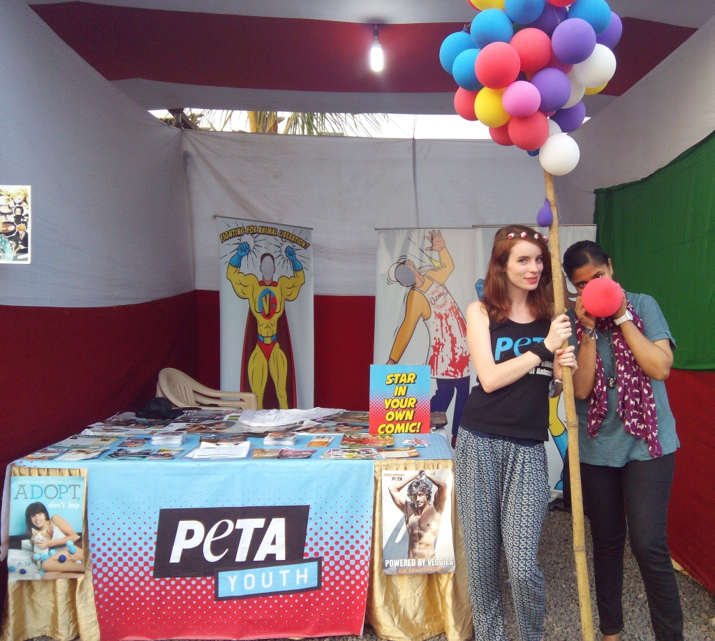 NH7 Pune - PETA Youth stall