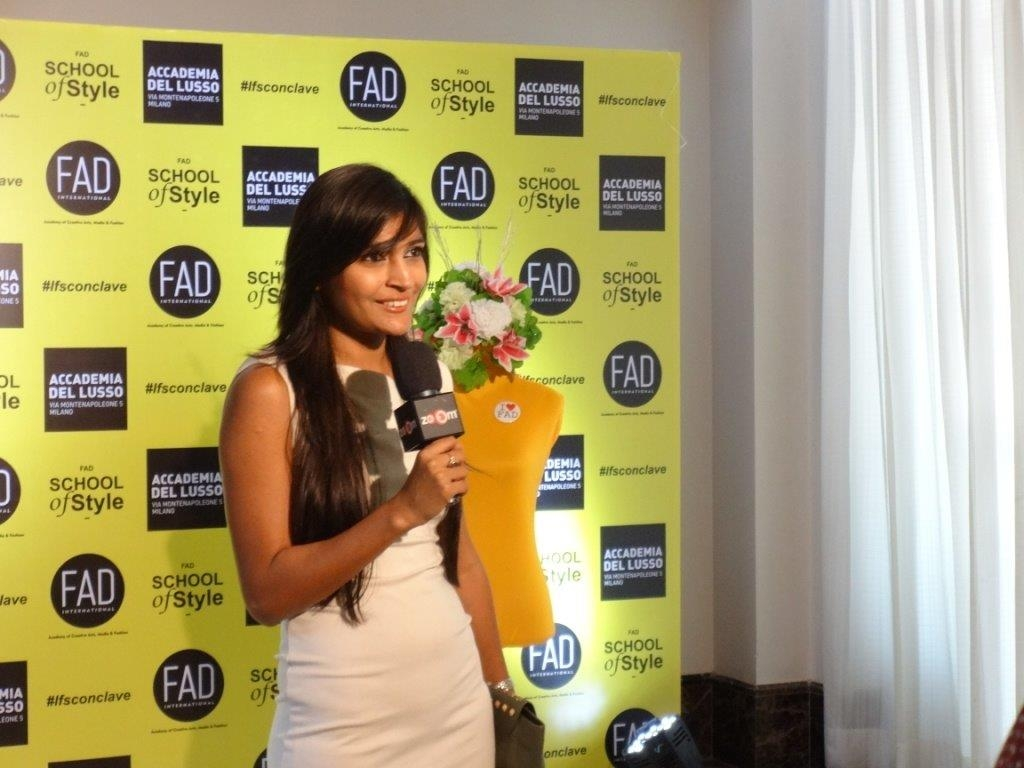 Benazir talks about Vegan Fashion at LFS Conclave FAD International