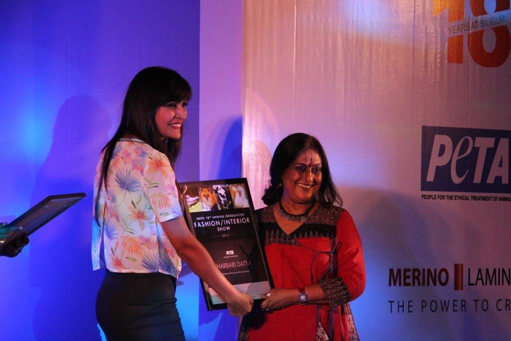 5. Felicitating fashion designer Sharbari Datta