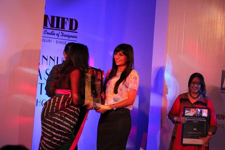 7. Felicitating designer Agnimitra Paul