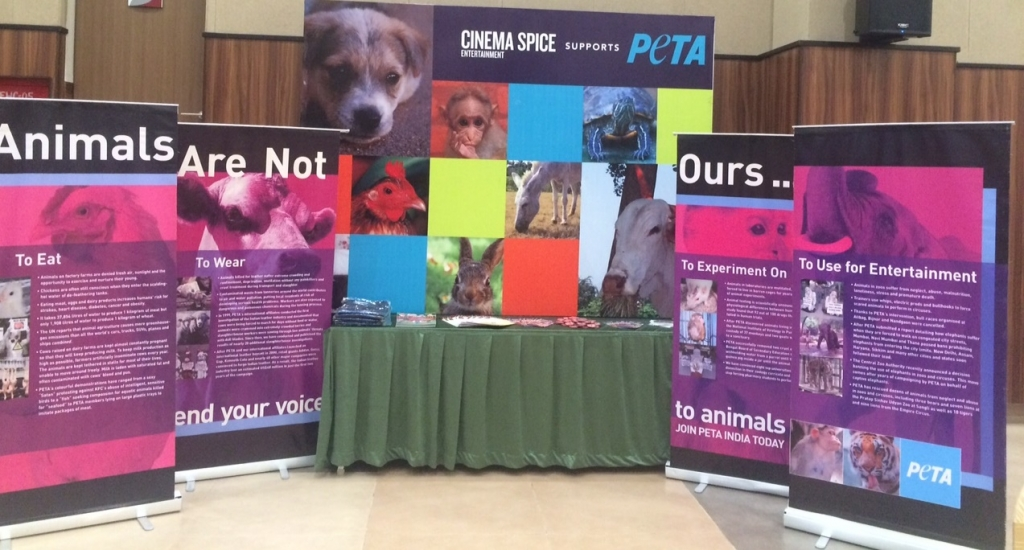 PETA stall