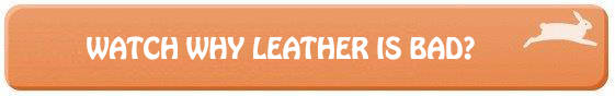 why leather is bad button