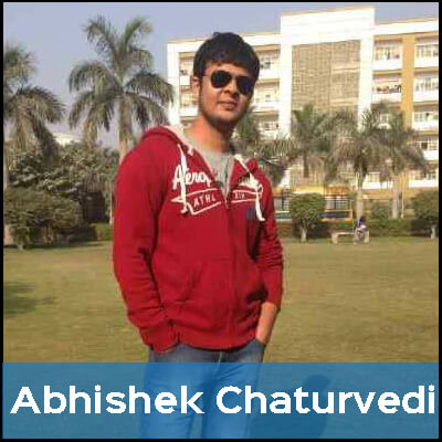 Abhishek is a vegetarian because he cares about animals and doesn't want to contribute to their suffering.