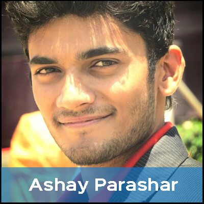 Ashay is a vegetarian because he doesn't like that animals are killed just for the sake of taste.
