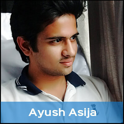 Ayush is vegetarian because he loves animals. It pains him to see them hurt, so he doesn't eat them.