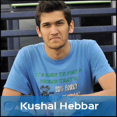 Kushal doesn't like to eat the corpses of animals just for the sake of taste, so he is a vegetarian.