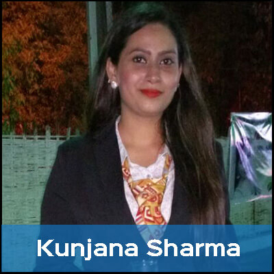 Kunjana is a vegetarian because she believes that animals have feelings, just as humans do, and can experience pain.