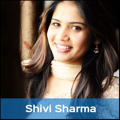 A vegetarian since birth, Shivi loves the satisfaction she feels after every meal.