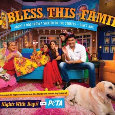 'Comedy Nights With Kapil' Applauds Animal Adoption