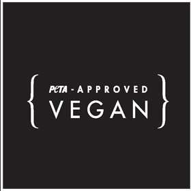 Introducing Our 'PETA-Approved Vegan' Logo for Easy Shopping!