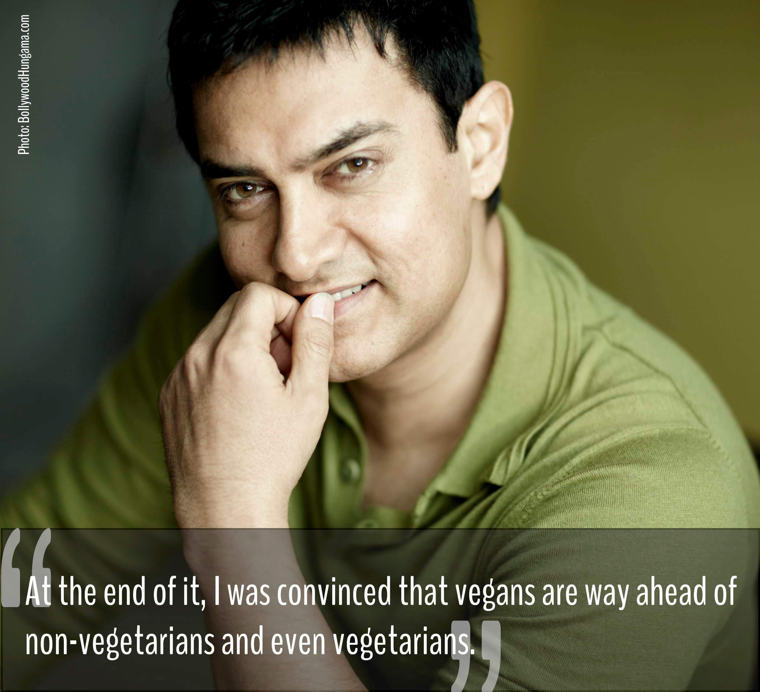 aamir khan vegan diet