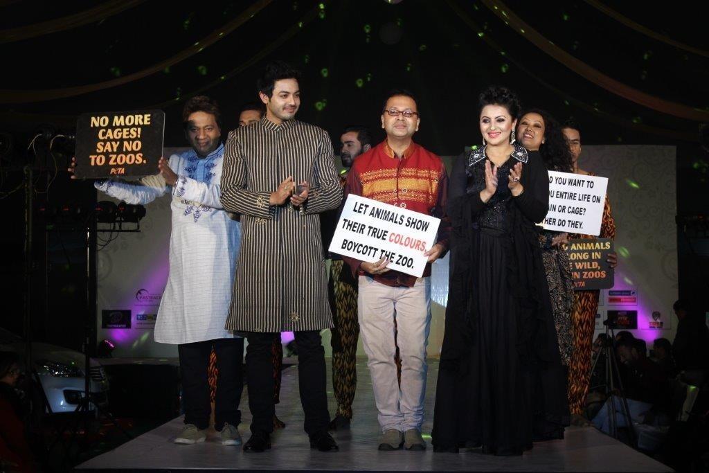 Prashantt Ghosh with models