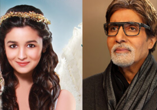 Amitabh Bachchan and Alia Bhatt Take Early Lead in PETA's 'Hottest Vegetarian Celebrity' Contest