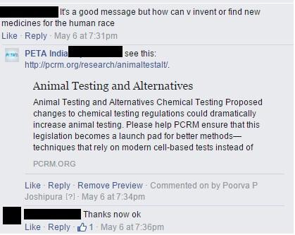14 FB post comment