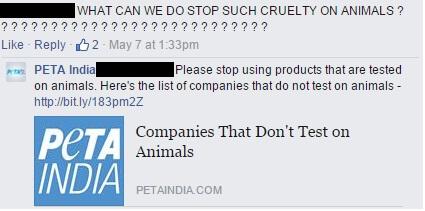 16 FB post comment