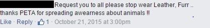 25 FB post comment