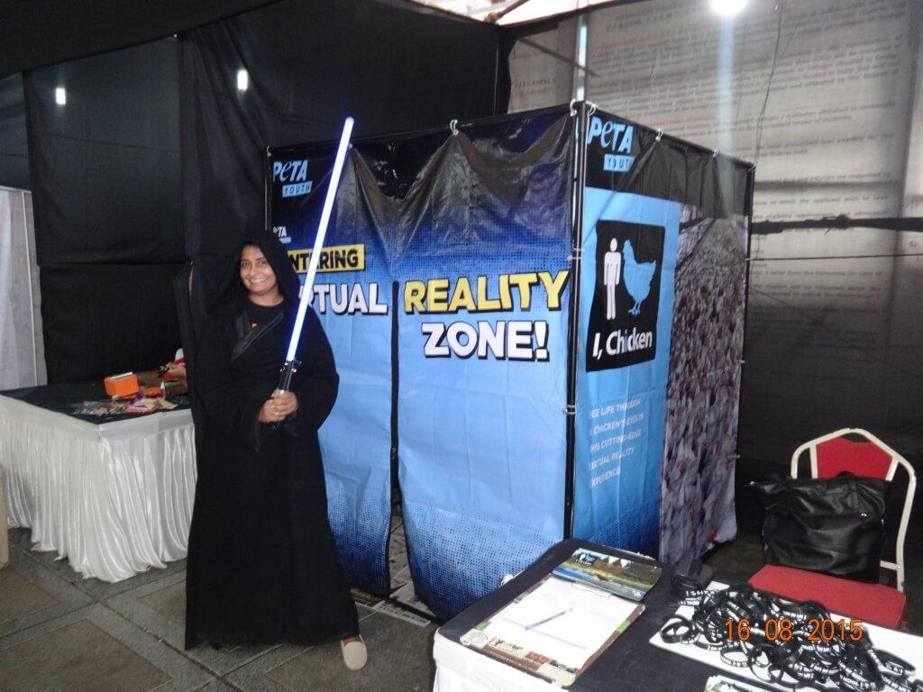 Star Wars theme at Stall