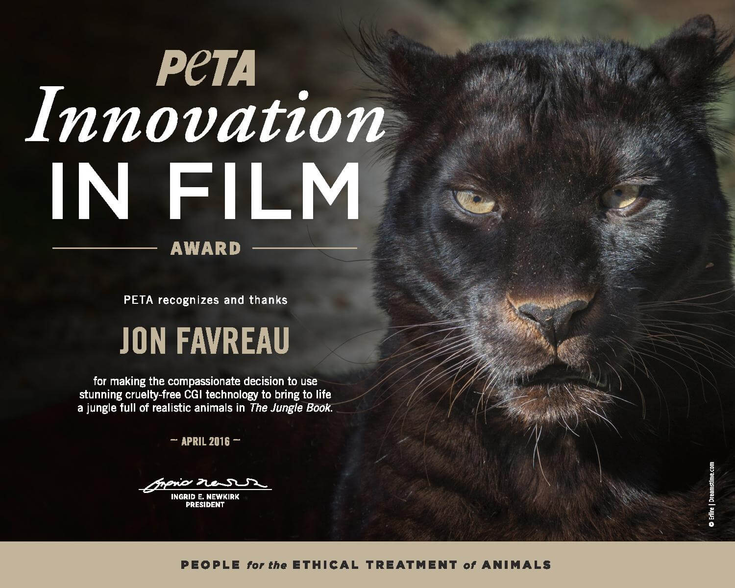 'The Jungle Book' Director Awarded for CGI Animal Cast
