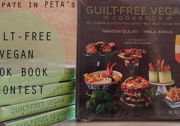 Guilt-Free Vegan Cookbook Contest